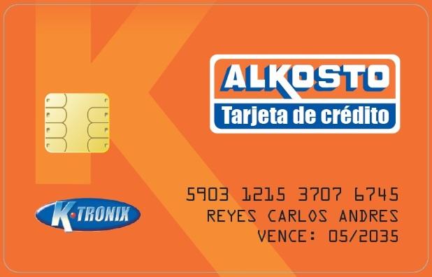 Tarjeta de crédito Alkosto