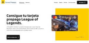 Como son las recargas por la tarjeta prepago correos en Espana paso 1