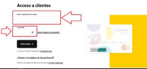 Como son las recargas por la tarjeta prepago correos en Espana paso 3
