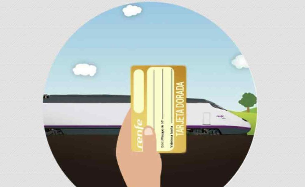 ¿Cómo conseguir la tarjeta dorada de renfe?